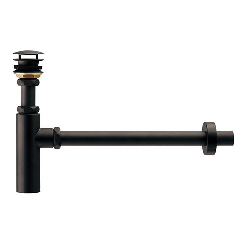 【最安値挑戦中!最大34倍】水栓金具 カクダイ 433-144-25 ボトルトラップユニット(ブラック) [♪■]