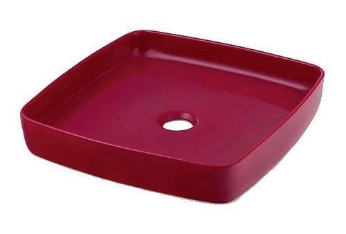 【最安値挑戦中!最大34倍】洗面所 カクダイ 493-096-R 角型手洗器//ラズベリー [♪■]