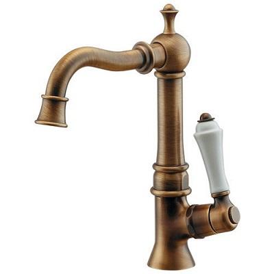 【最安値挑戦中!最大25倍】水栓金具 カクダイ 700-733-AB 立水栓//オールドブラス 90°開閉ハンドル [♪■]