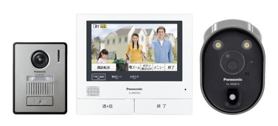 【最安値挑戦中!最大34倍】パナソニック インターホン VL-SVH705KLC ワイヤレスカメラ付テレビドアホン3-7タイプ [■]