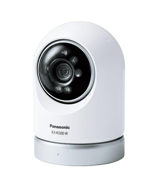 【最安値挑戦中!最大23倍】パナソニック インターホン KX-HC600-W ホームネットワークシステム 屋内スイングカメラ [■]