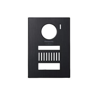 【最安値挑戦中!最大34倍】パナソニック インターホン VL-VP500-H 着せ替えデザインパネル メタリックグレー [■]