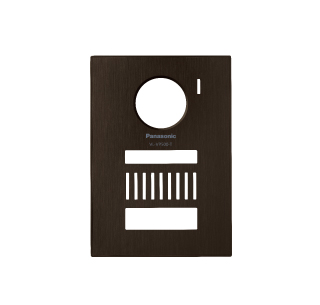 【最安値挑戦中!最大34倍】パナソニック インターホン VL-VP500-T 着せ替えデザインパネル シャイニーブラウン [■]