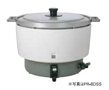 【最安値挑戦中!最大23倍】パロマ 業務用ガス炊飯器 PR-10DSS 5.5升(10.0L)タイプスタンダードタイプ 固定取っ手付 [♪【店販】]