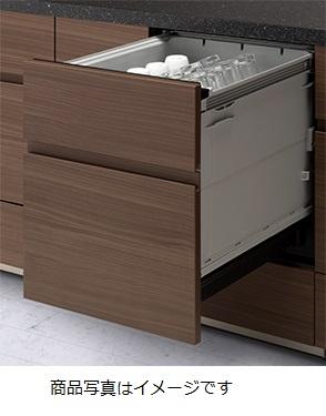 食器洗い乾燥機 パナソニック NP-45KD8A 幅45cm ディープタイプ フルオートオープン (ドア面材別売)[■]