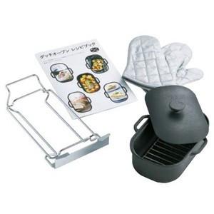 【最大44倍スーパーセール】調理器具 パロマ PGD-3 ダッチオーブンセット crea専用 専用レシピ付き