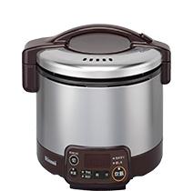 【最安値挑戦中!最大34倍】ガス炊飯器 リンナイ RR-030VMT-DB こがまる VMTシリーズ タイマー・ジャー付 0.5~3合 専用ガスコード別売 [※]