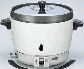 業務用ガス炊飯器 リンナイ RR-15SF-1 卓上型 普及タイプ コンパクト45 内釜フッ素仕様 3.0L(1.5升) [♪■【店販】]