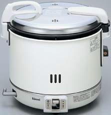 【最安値挑戦中!最大34倍】業務用ガス炊飯器 リンナイ RR-15VNS2-1 卓上型 普及タイプ コンパクト45 ジャー付 内釜フッ素仕様 3.0L(1.5升) [≦]