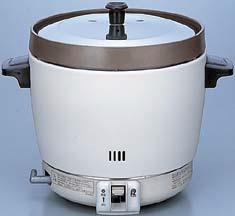 【最安値挑戦中!最大34倍】業務用ガス炊飯器 リンナイ RR-20SF2(A) 卓上型 普及タイプ コンパクト45 内釜フッ素仕様 3.6L(2升) [≦【店販】]