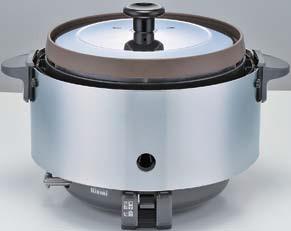 業務用ガス炊飯器 リンナイ RR-S15SF 卓上型 普及タイプ 涼厨 コンパクト45 内釜フッ素仕様 3.0L(1.5升) [♪■【店販】]