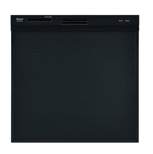 【最安値挑戦中!最大34倍】食器洗い乾燥機 リンナイ RSW-404A-B 幅45cm スライドオープンタイプ スリムデザイン ブラック [≦]