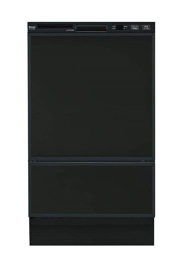 【最安値挑戦中!最大25倍】食器洗い乾燥機 リンナイ RSW-F402C-B フロントオープンタイプ ブラック [≦]
