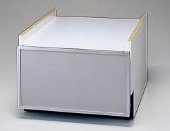 【最安値挑戦中!最大24倍】食器洗い乾燥機 リンナイ KWP-454K-SV 下部キャビネット 45cm幅 スライドオープンタイプ用 シルバー [≦]