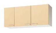 【最大44倍スーパーセール】クリナップ 【WK9W-120 ホワイト】 木キャビキッチン さくら ショート吊戸棚 可動棚板1段 間口120cm [♪▲]