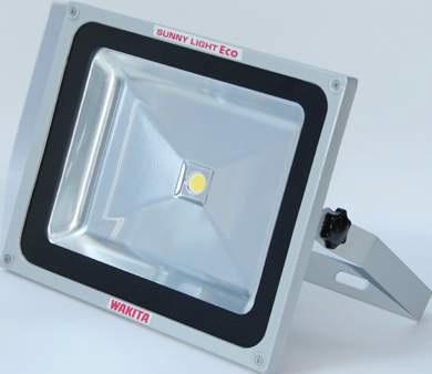【最安値挑戦中!最大23倍】ワキタ LED投光器 WAKITA-LED-60W サニーライトエコ 明るさ6000Lm メイホーシリーズ [♪■]