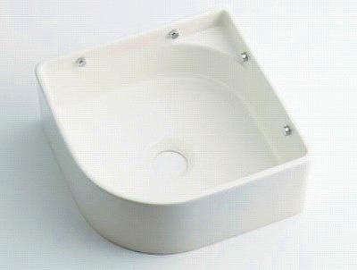 【最安値挑戦中!最大34倍】カクダイ 【493-048-W】 壁掛手洗器//ホワイト [♪■]