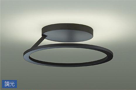 【最安値挑戦中!最大25倍】大光電機(DAIKO) DCL-40642YG シーリング LED内蔵 調光(調光器別売) 電球色 ~10畳 ブラック