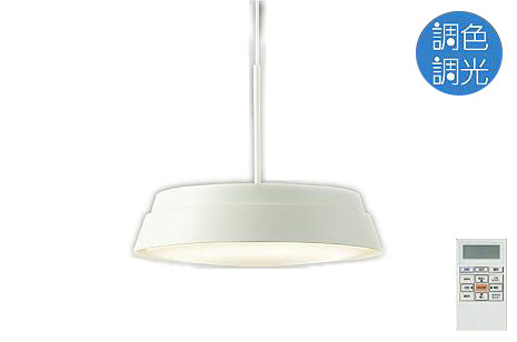 【最安値挑戦中!最大25倍】照明器具 大光電機(DAIKO) DPN-38513 ペンダントライト LED内蔵 洋風大型 調色調光 タイマー付リモコン付属・プルレス ~6畳