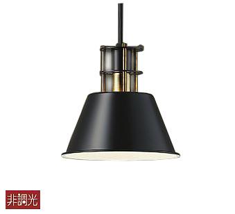【最安値挑戦中!最大25倍】大光電機(DAIKO) DPN-40481Y ペンダント ランプ付 非調光 電球色 ブラック 白熱灯60W相当(E17)