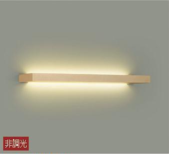 【最安値挑戦中!最大25倍】大光電機(DAIKO) DBK-40004Y ブラケット 洋風 非調光 LED内蔵 電球色 木製 ホワイトアッシュ色塗装