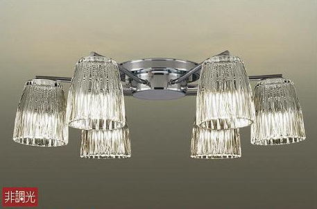 【最安値挑戦中!最大34倍】照明器具 大光電機(DAIKO) DCH-38213Y シャンデリア DECOLED'S ランプ付 LED 電球色 ~6畳 [∽]