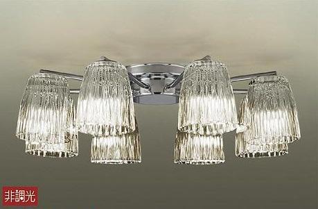 【最安値挑戦中!最大24倍】照明器具 大光電機(DAIKO) DCH-38214Y シャンデリア DECOLED'S ランプ付 LED 電球色 ~8畳 [∽]