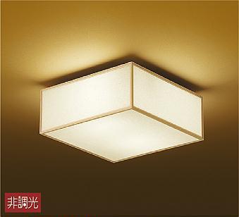 【最安値挑戦中!最大34倍】照明器具 大光電機(DAIKO) DCL-38825Y シーリングライト LED (ランプ付き) 和風角形 電球色 [∽]