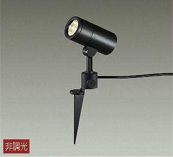 【最安値挑戦中!最大34倍】照明器具 大光電機(DAIKO) DOL-4021YB アウトドアスポットライト DECOLED'S 防雨形 黒 LED内蔵 電球色 [∽]