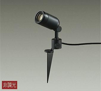 【最安値挑戦中!最大34倍】照明器具 大光電機(DAIKO) DOL-4056YB アウトドアスポットライト DECOLED'S 防雨形 黒 LED内蔵 電球色 [∽]