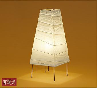 【最安値挑戦中!最大25倍】大光電機(DAIKO) DST-40070Y 和風スタンド 非調光 LED ランプ付 電球色 プルスイッチ付 和紙