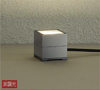 【最安値挑戦中!最大34倍】大光電機(DAIKO) DWP-40123Y アウトドアライト ガーデニング 非調光 LED内蔵 電球色 防雨形 グレー塗装 [∽]
