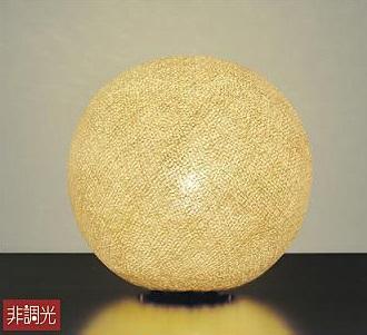 【最安値挑戦中!最大25倍】大光電機(DAIKO) LZT-90739YT 和風スタンド ランプ付 非調光 電球色 生成り LED電球 クリア6.4W 中間スイッチ付
