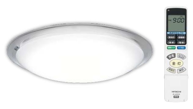 【最安値挑戦中!最大24倍】照明器具 日立 LEC-AHS1810K LEDシーリング ecoこれっきり ラク見え 搭載タイプ ~18畳 [■]