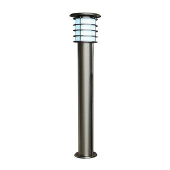 【最安値挑戦中!最大25倍】因幡電機産業 SPL-10-WH ガーデンライト LED一体型 電源工事不要 白色 防雨型 白熱球10W相当シルバー