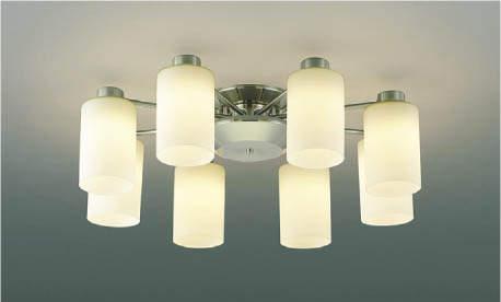 【最安値挑戦中!最大25倍】コイズミ照明 AA40055L シャンデリア Simprare 調光 LED一体形 電球色 専用リモコン付 ~12畳