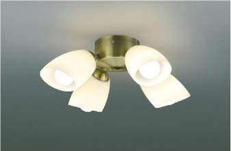 【最安値挑戦中!最大24倍】コイズミ照明 AA43197L インテリアファン Sシリーズ クラシカルタイプ専用灯具 (灯具のみ本体別売) LED付 電球色 ~6畳 [(^^)]