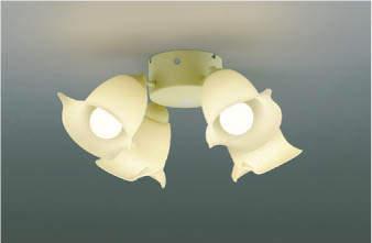 【最安値挑戦中!最大24倍】コイズミ照明 AA43201L インテリアファン Sシリーズ プロバンスタイプ専用灯具 (灯具のみ本体別売) LED付 電球色 ~6畳 [(^^)]