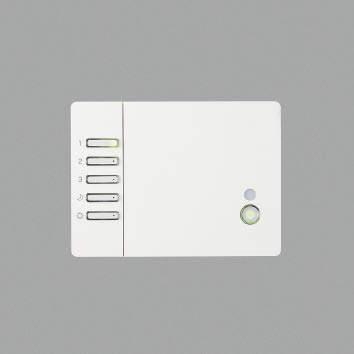 【最安値挑戦中!最大34倍】コイズミ照明 AE39784E メモリーライトコントローラ 3回路用 同梱リモコン 埋込ボックス取付専用 [(^^)]