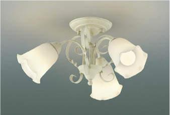 【最安値挑戦中!最大25倍】コイズミ照明 AH39686L シャンデリア FEMINEO 白熱球60W×3灯相当 LED付 電球色 アンティークアイボリー