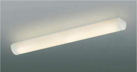 【最安値挑戦中!最大24倍】コイズミ照明 AH42524L キッチンライト 天井直付・壁付両用型 FHF32W相当 LED一体型 電球色 ホワイト [(^^)]