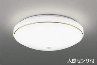 【最安値挑戦中!最大25倍】コイズミ照明 AH43180L 内玄関シーリングライト ON・OFFタイプ 人感センサ付 FCL30W相当 LED一体型 昼白色 飾り・金色