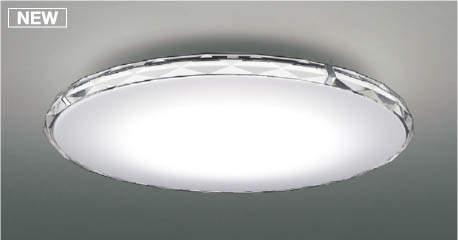 【最安値挑戦中!最大25倍】コイズミ照明 AH48945L LEDシーリング LED一体型 Fit調色 調光調色 電球色+昼光色 リモコン付 ~6畳 クリア クロム