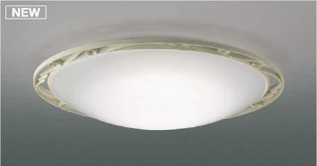 【最安値挑戦中!最大25倍】コイズミ照明 AH48954L LEDシーリング LED一体型 Fit調色 調光調色 電球色+昼光色 リモコン付 ~12畳 アンティークアイボリー