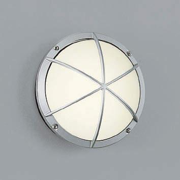 【最安値挑戦中!最大34倍】コイズミ照明 AU38606L ポーチライト 玄関灯 表札灯 壁 ブラケットライト 白熱球40W相当 LED付 電球色 防雨型 シルバー [(^^)]