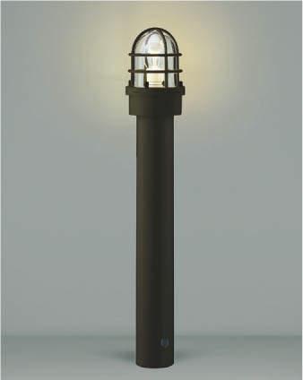 【最安値挑戦中!最大34倍】コイズミ照明 AU40205L(別梱包2ヶ口) ガーデンライト ポール灯 門灯 庭園灯 白熱球60W相当 LED付 電球色 防雨型 茶色 [(^^)]