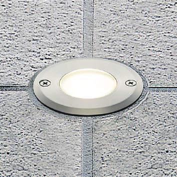 【最大44倍お買い物マラソン】コイズミ照明 AU40211L ガーデンライト バリードライト フットライト 白熱球40W相当 LED一体型 電球色 埋込穴φ77