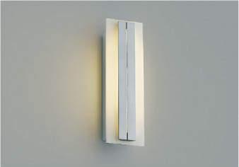 【最安値挑戦中!最大34倍】コイズミ照明 AU42332L ポーチライト 壁 ブラケットライト 調光 白熱球40W相当 LED一体型 電球色 防雨型 シルバーメタリック [(^^)]