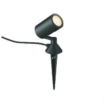 【最安値挑戦中!最大34倍】コイズミ照明 AU42387L アウトドアスパイクスポットライト 白熱球100W相当 LED一体型 電球色 防雨型 拡散 ブラック [(^^)]