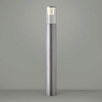 【最安値挑戦中!最大25倍】コイズミ照明 AU45258L ガーデンライト 門灯 庭園灯 LED一体型 電球色 防雨型 シルバーメタリック